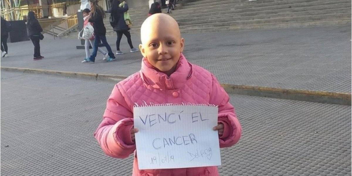 Argentina celebra que niñita de ocho años venció el cáncer luego de 52 quimioterapias