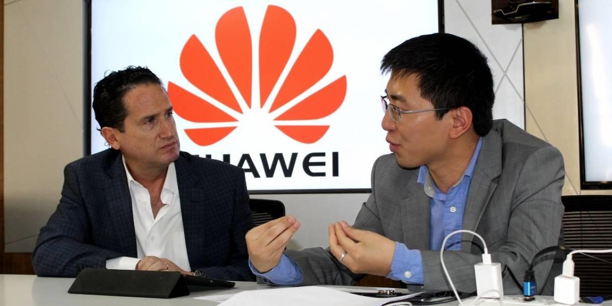 """Huawei: """"Vamos en camino a ser la número uno"""""""
