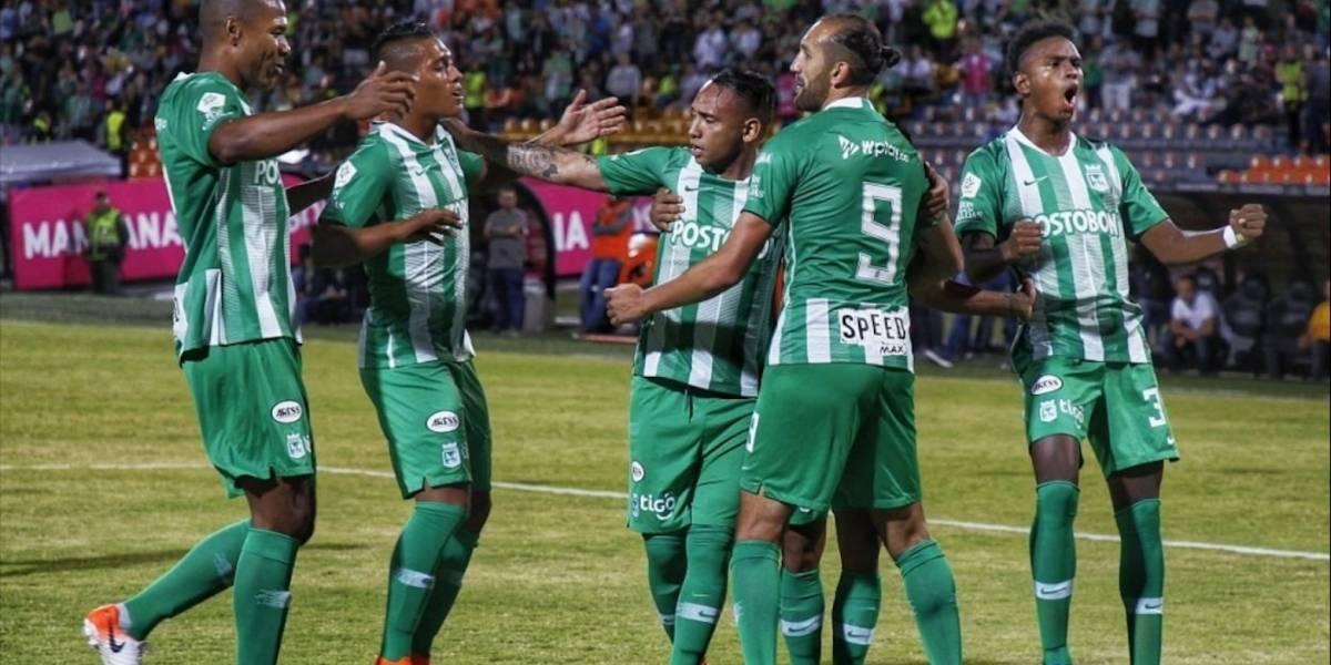 Video de los goles de Patriotas vs. Atlético Nacional ((Liga Águila, Fecha 16))