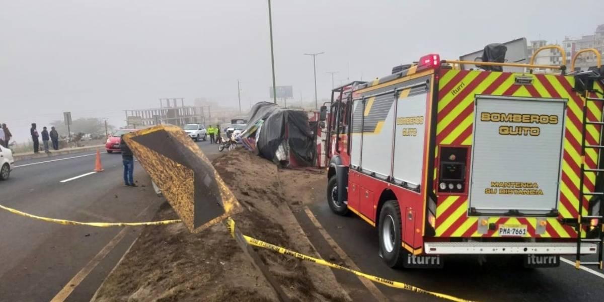 Quito: Un fallecido tras accidente tránsito en Oyacoto