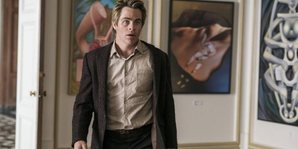 Chris Pine, un reportero arruinado en 'I Am the Night' de TNT Series