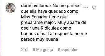 Críticas Cristina Hidalgo