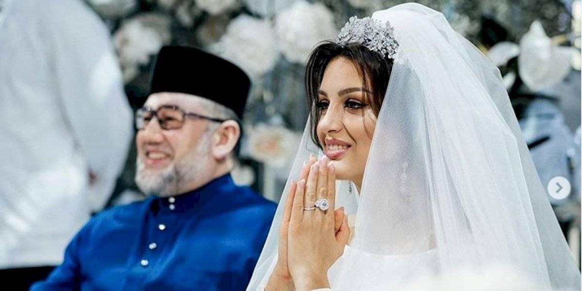 Sigue la teleserie del sultán de Malasia: no cree que la guagua de su ex esposa sea suya