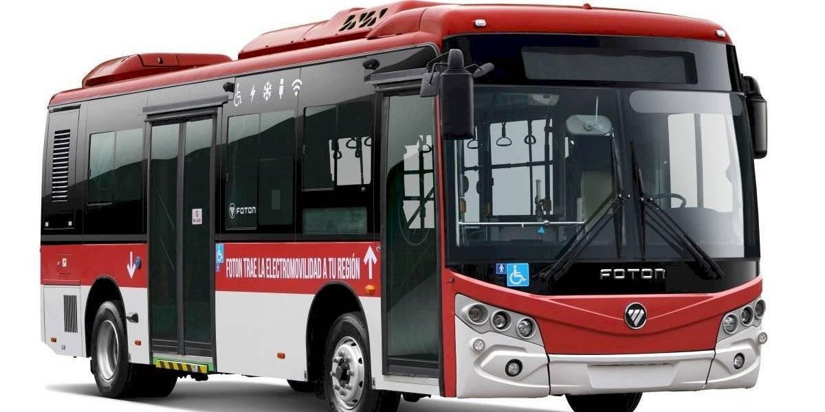 Foton sale de gira al sur de Chile con su bus eléctrico UR