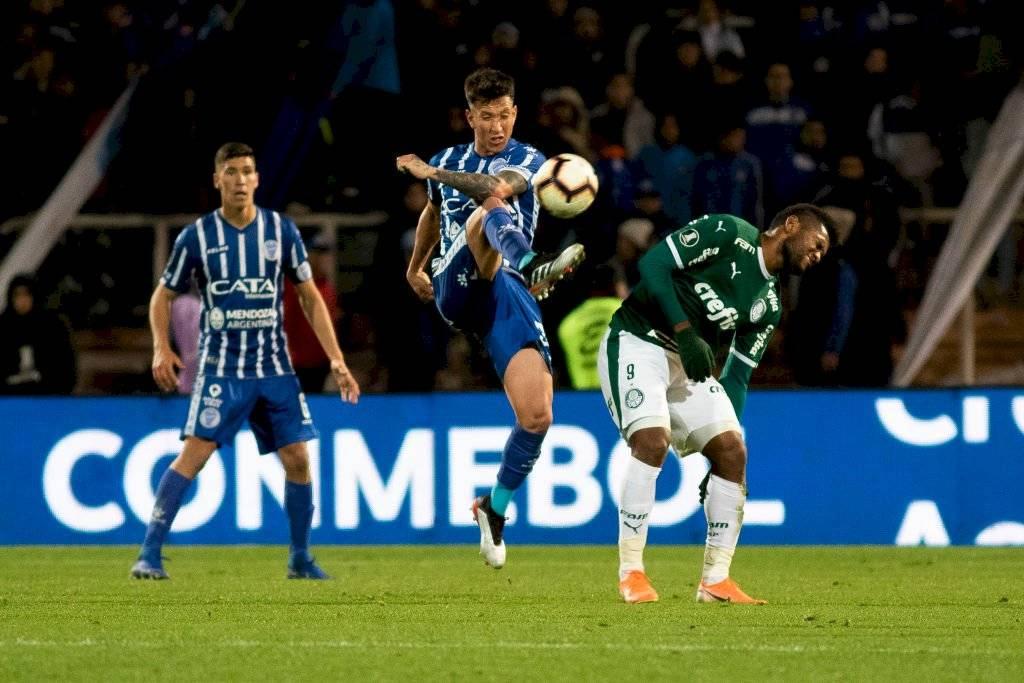 Godoy Cruz y Palmeiras igualaron en Mendoza / Foto: Getty Images