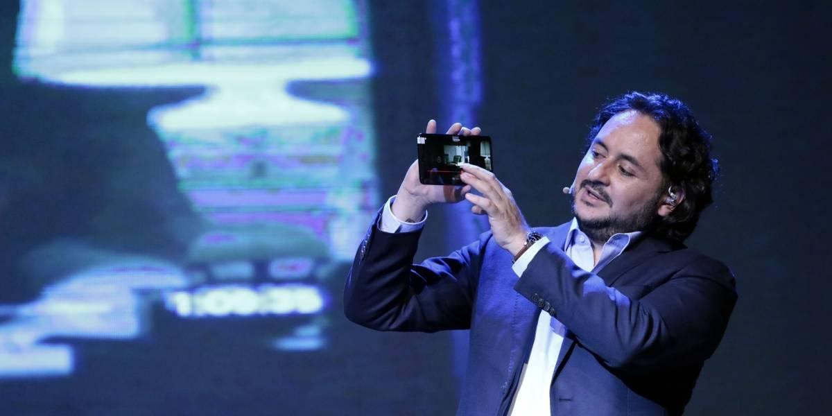 Huawei exhibe en Ecuador el Mate 20 X 5G, su primer Smartphone 5G