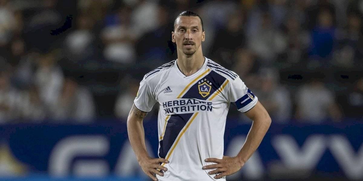 Zlatan Ibrahimovic no será sancionado por la MLS por el codazo a El Munir