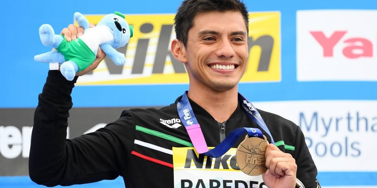 Jonathan Paredes consigue bronce en Mundial de natación