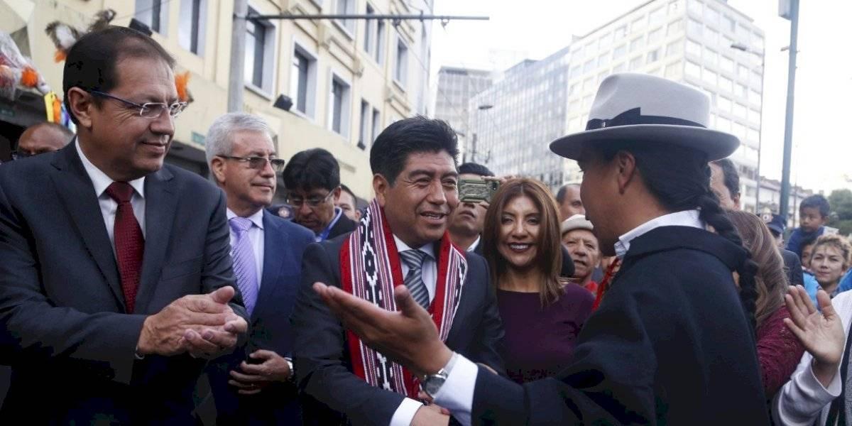 """Jorge Yunda: """"Quiero que los mercados de Quito sean los mejores del país"""""""