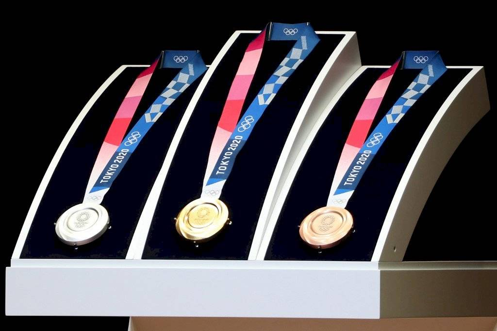 Foto AFP | Este día fueron presentadas las medallas olímpicas