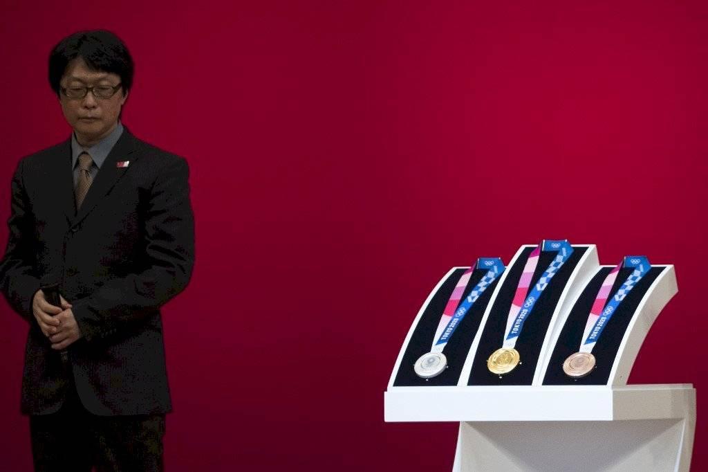 Foto AFP | Las metales que se darán en Tokio 2020 serán fabricadas en metal reciclado