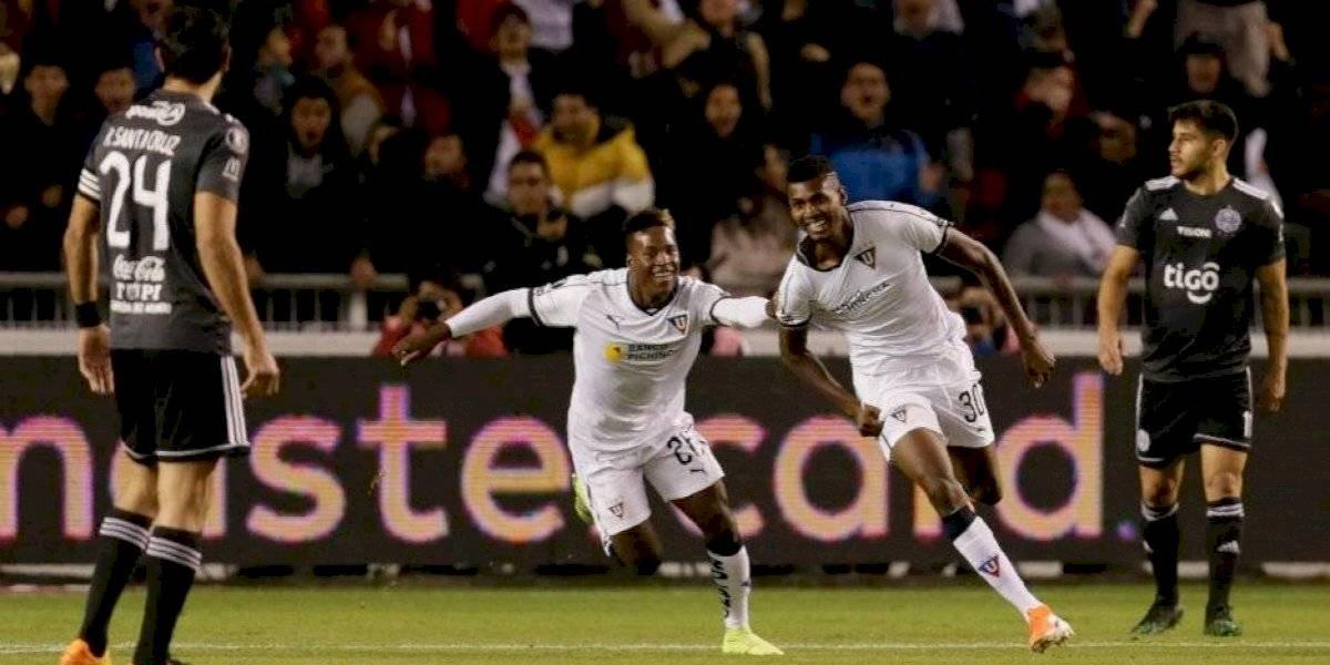 Copa Libertadores: LDU dio el primer golpe ante Olimpia y Palmeiras rescató un empate frente a Godoy Cruz