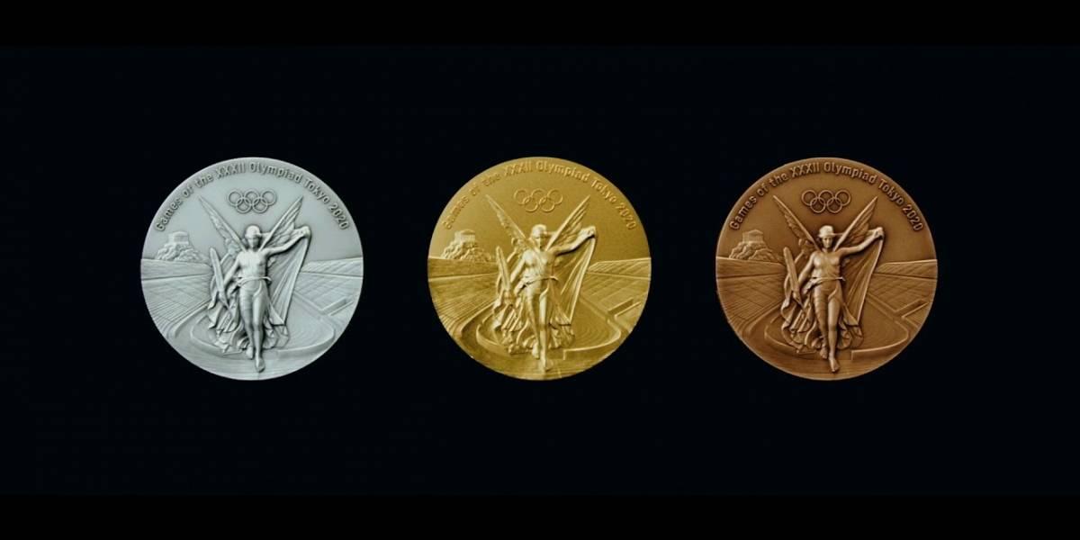 Revelan finalmente las medallas olímpicas de Tokio 2020 hechas de celulares viejos