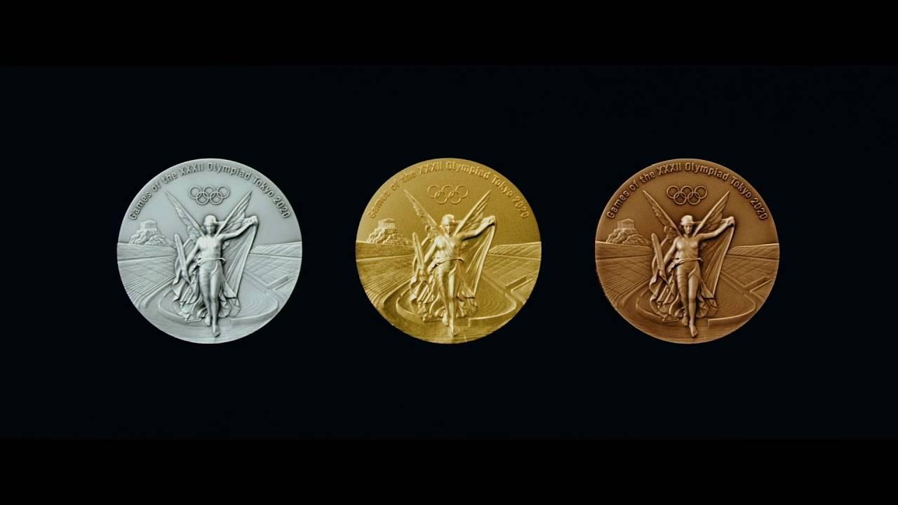 Revelan finalmente las medallas olímpicas de Tokio 2020