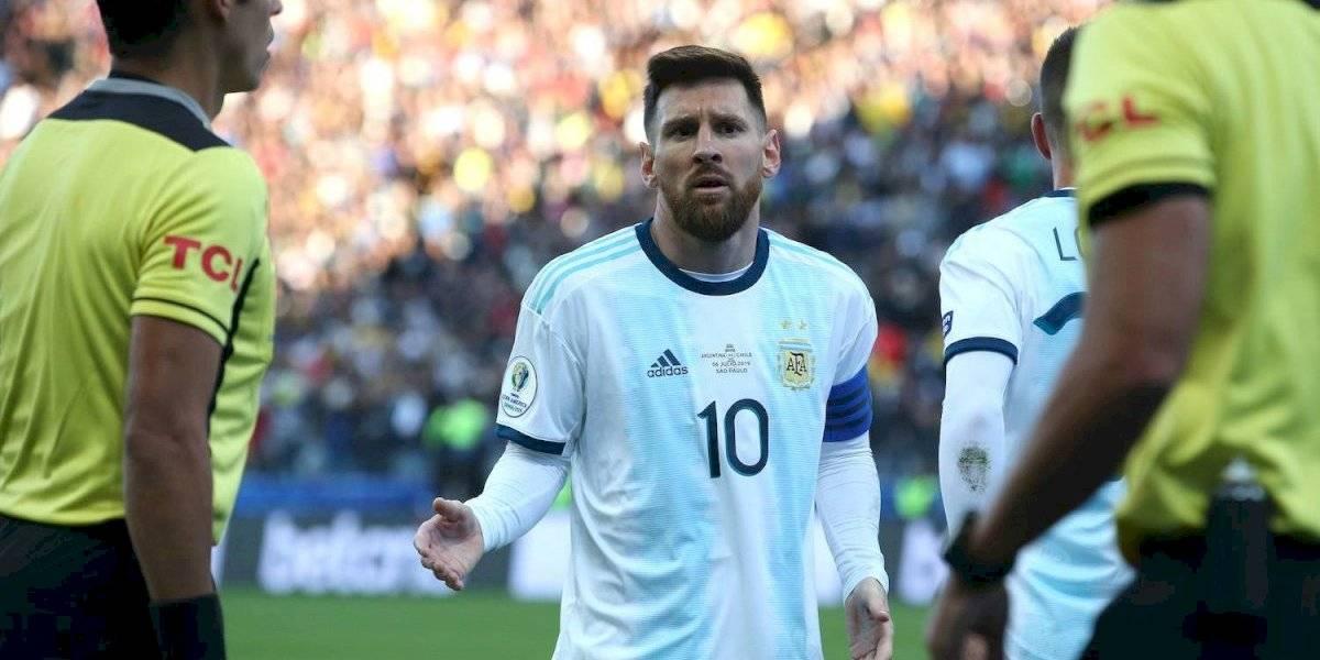 La Conmebol mantiene abierto el expediente de Messi y analizan una sanción por sus declaraciones