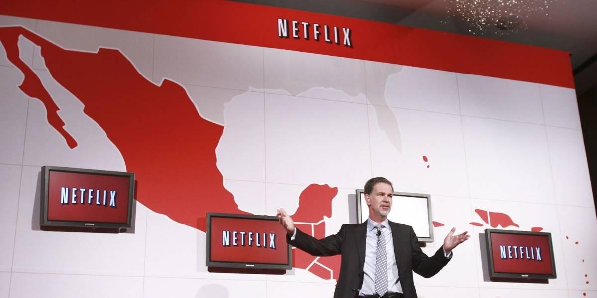 Netflix sigue siendo muy fuerte en el mercado de Brasil, México y Argentina