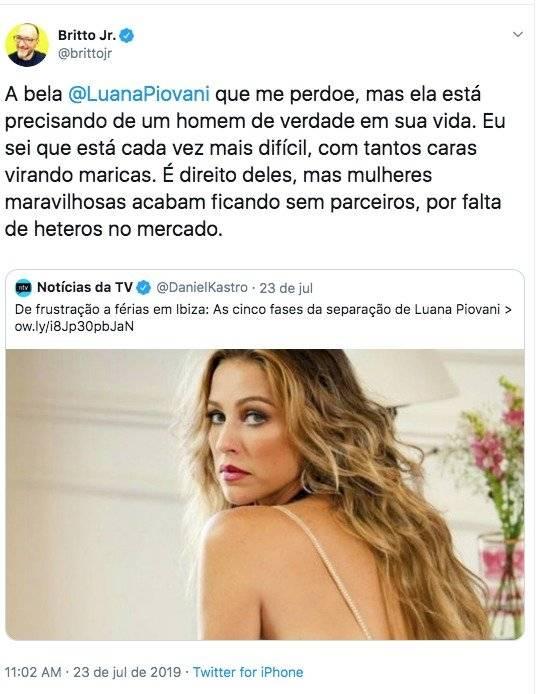 Luana Piovani Britto Jr
