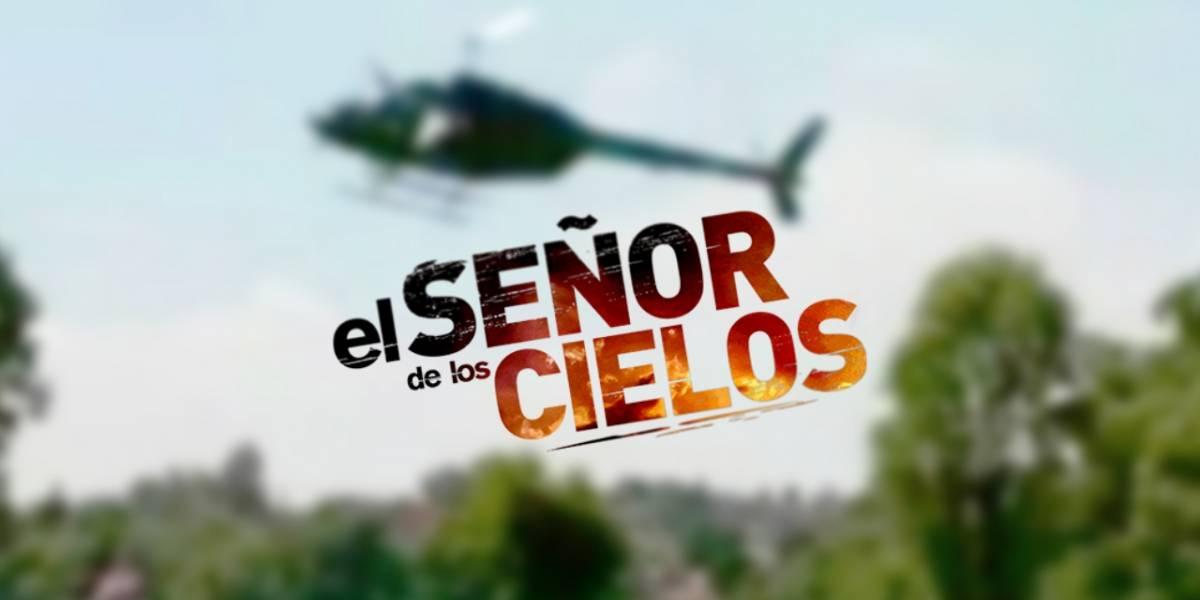 """Elenco de """"El Señor de los Cielos"""" sufre accidente en helicóptero"""