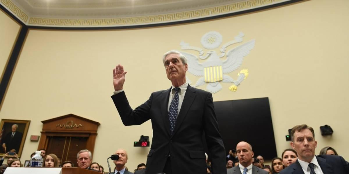 VIDEO. Fiscal Mueller dice que su investigación no exonera a Trump