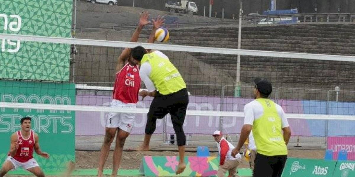 México debutó con derrota en el voleibol de playa en Juegos Panamericanos