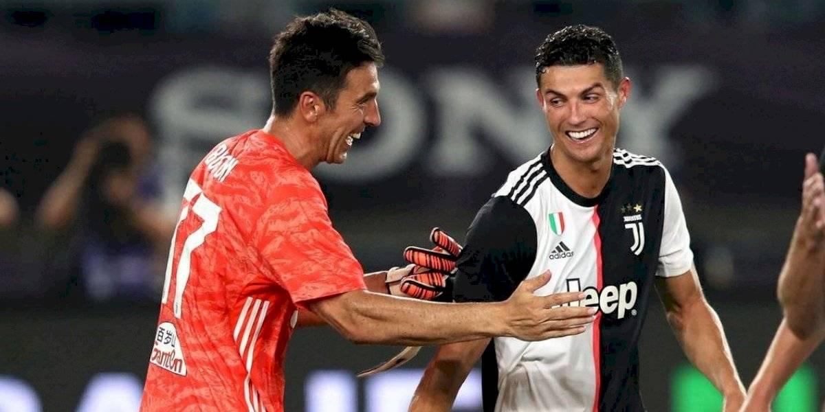 Cristiano Ronaldo y Gianluigi Buffon salvaron a Juventus en el clásico ante Inter de Milán