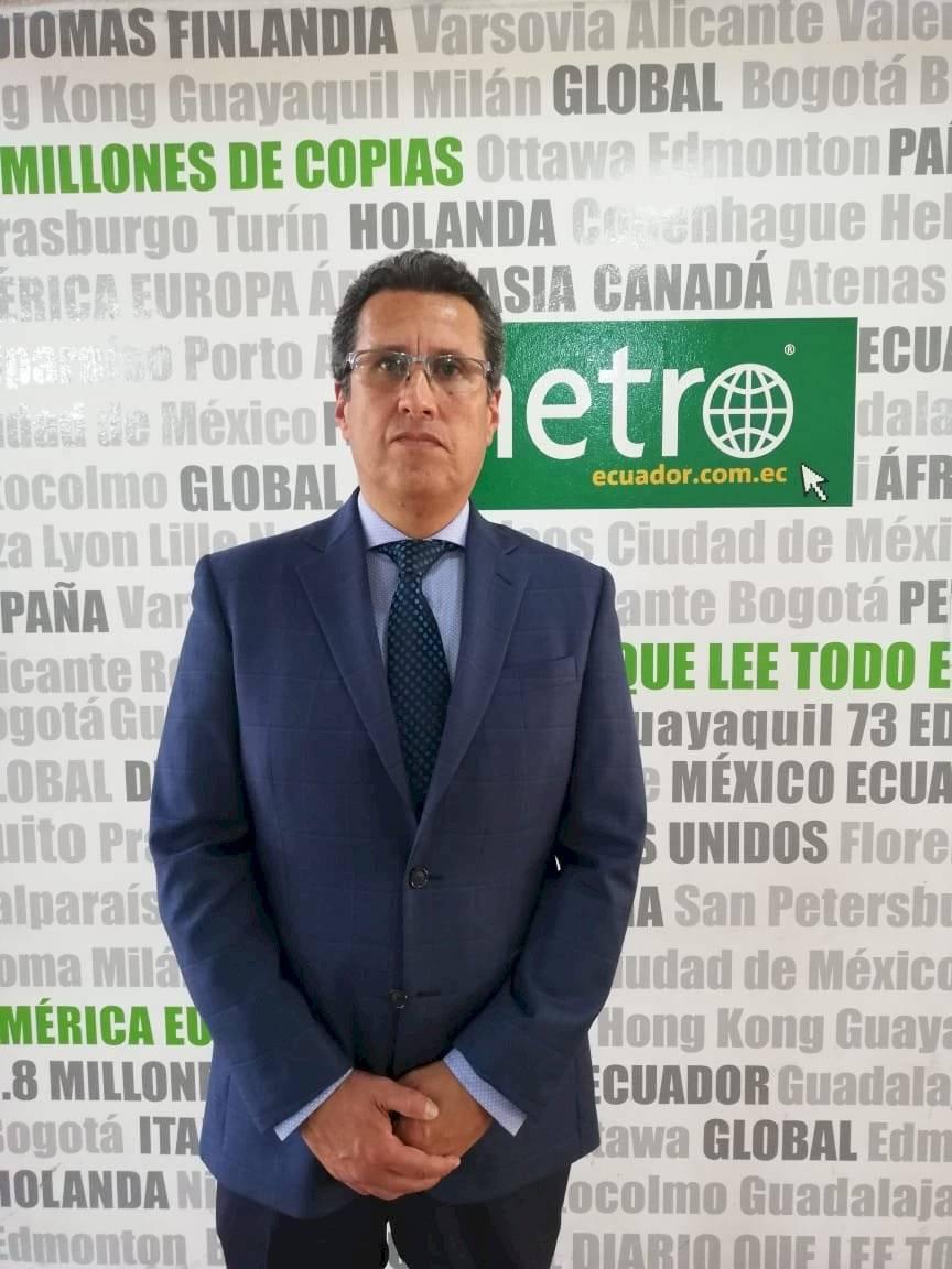 Juan Yepez, director de Eduación Continua en UDLA