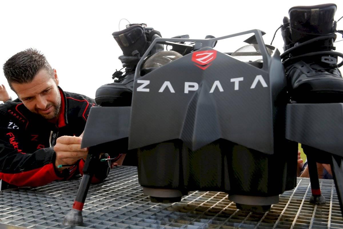 Franky Zapata prancha voadora