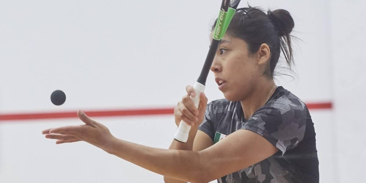 Diana García debuta con victoria en squash en Juegos Panamericanos