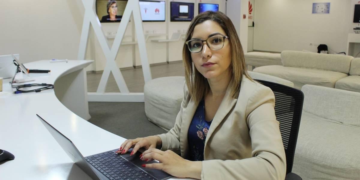 """Andrea Arévalo: """"Nuestro objetivo primordial como Huawei es crecer"""""""