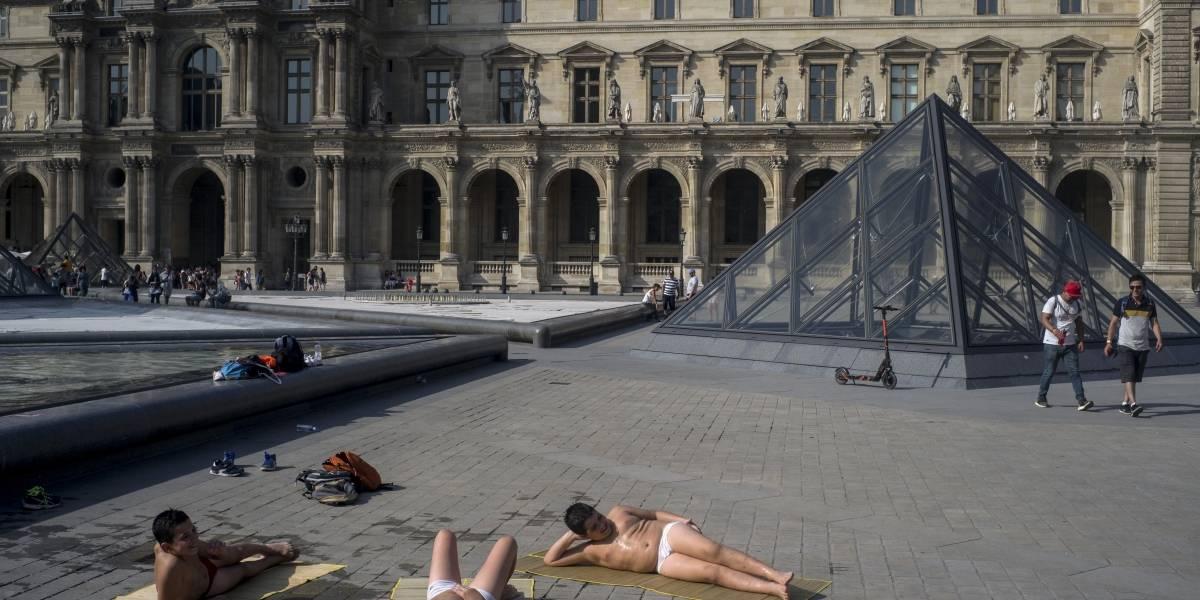 42,4 grados en París: la máxima histórica de la capital francesa