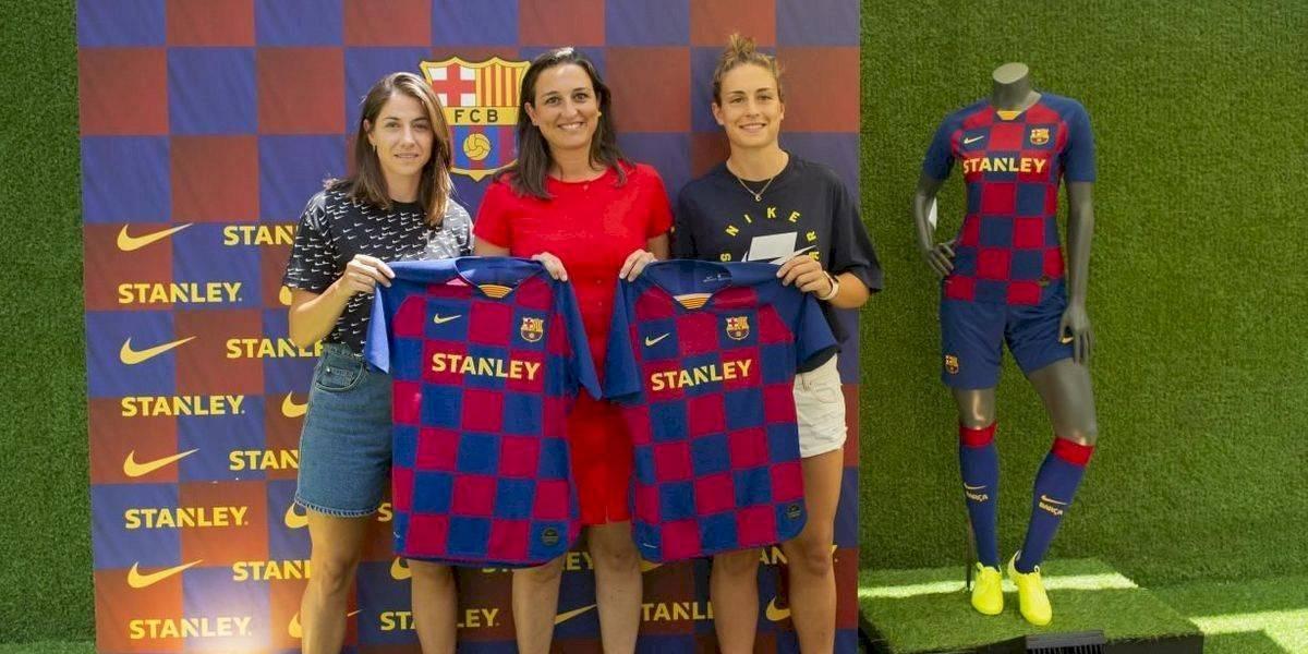 Barcelona pone a la venta por primera vez el jersey del equipo femenil