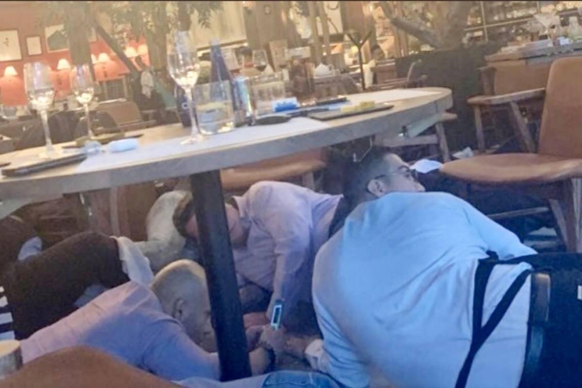 Revelan video del momento en que matan a israelíes