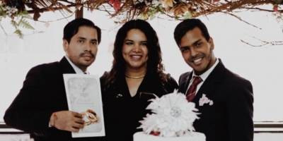Giovanny Vareles y Borys Álvarez se casaron en Guayaquil
