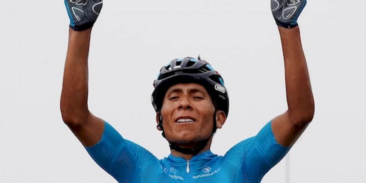 ¡Bicente-Nairo! Quintana mostró su poder y ganó en los Alpes
