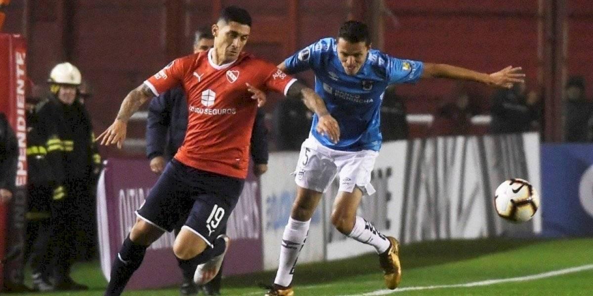 El Tucu Hernández le dio la primera alegría a Beccacece en Independiente por la Copa Sudamericana