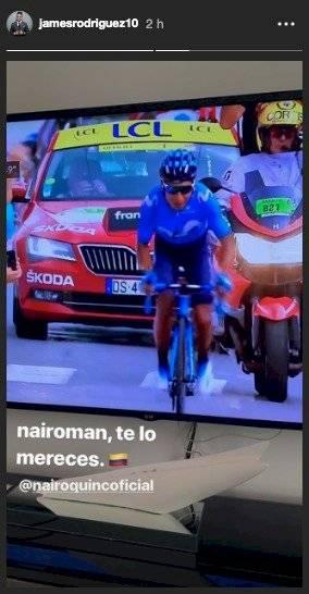 James a Nairo por triunfo en Tour de francia