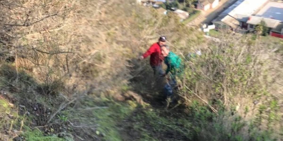 El misterio que asusta a los vecinos: investigan extraños ruidos que provienen de un cerro en San Antonio