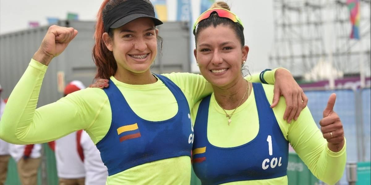 ¡La segunda fue la vencida! Colombia ganó en vóley playa en los Juegos Panamericanos