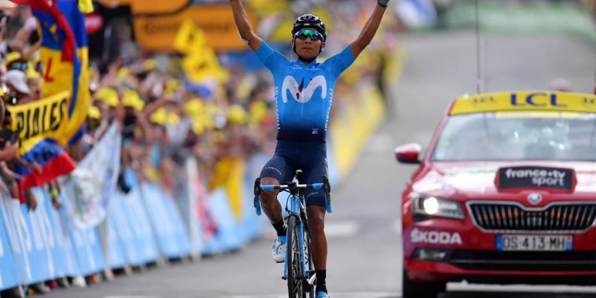 Tour de Francia: Quintana desató un terremoto en los Alpes y Alaphilippe aguantó con lo justo