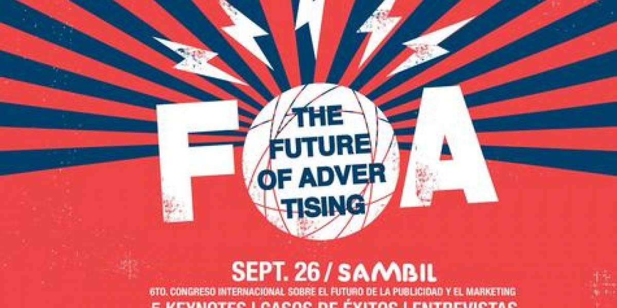 Congreso FOA será realizado el 26 de septiembre