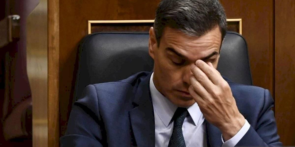 Fracasa investidura de Pedro Sánchez como presidente del gobierno español