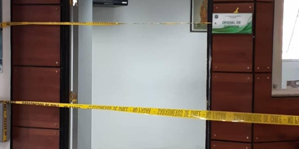 Explosión afecta a comisaría de Huechuraba: confirman que cinco carabineros resultaron heridos
