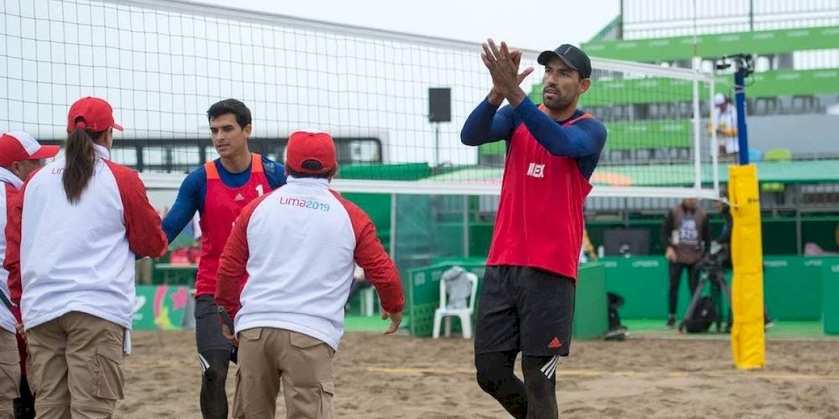 México recompone el camino y gana su segundo partido en el voleibol de playa en Juegos Panamericanos