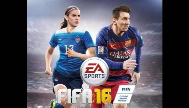Alex Morgan en portada junto a Messi