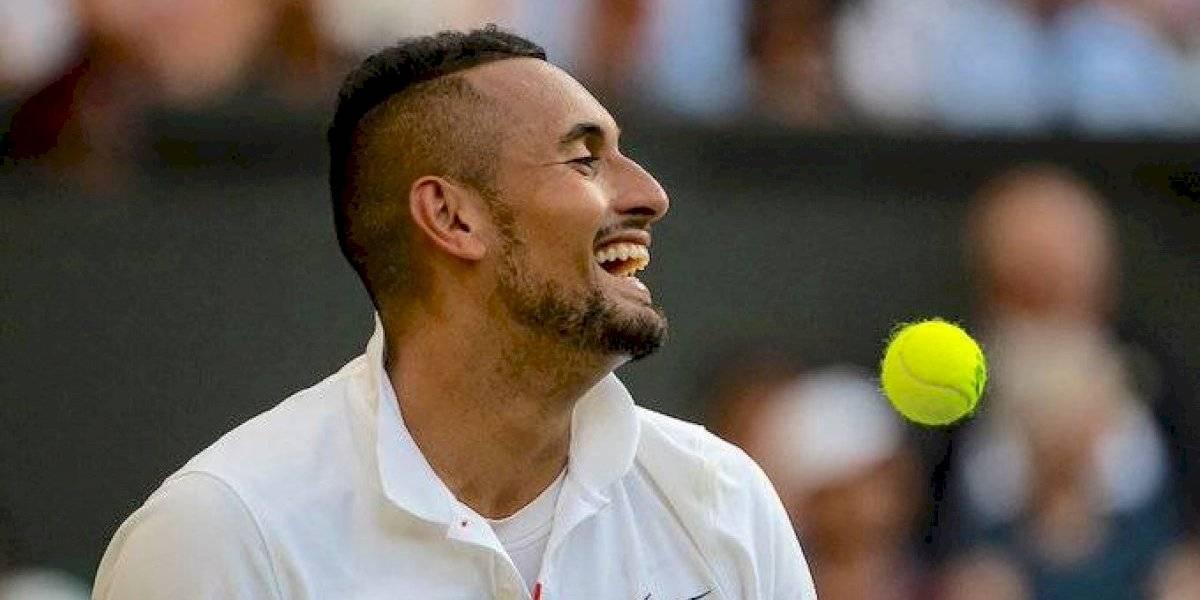 """""""No-le"""" cae bien el """"1"""" del mundo: La nueva payasada de Kyrgios burlándose de Djokovic"""