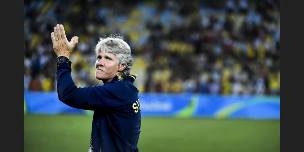 Treinadora sueca Pia Sundhage assume Seleção feminina