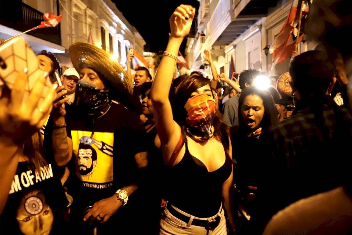 Puerto Rico, festejo tras denuncia del Gobernador