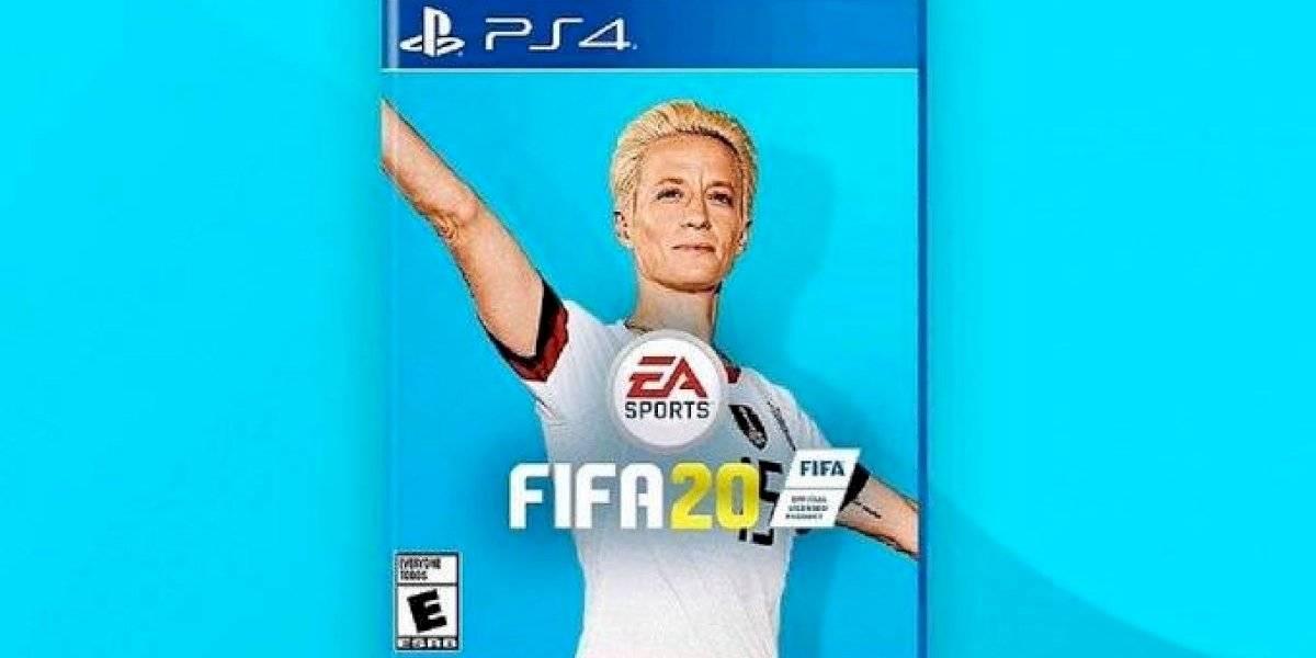 Megan Rapinoe podría ser portada del FIFA 2020