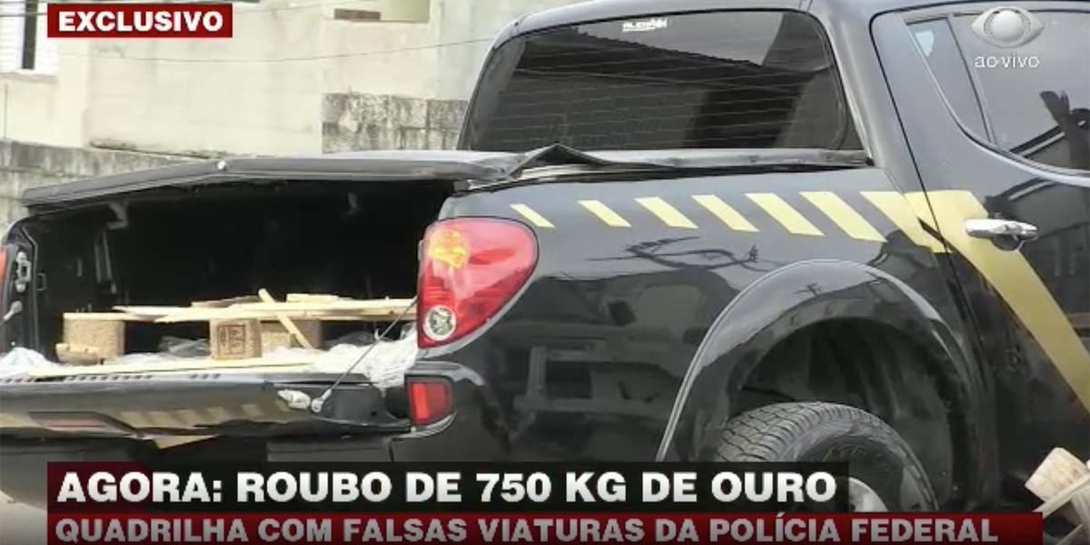 Quadrilha rouba carga de ouro em aeroporto de Cumbica