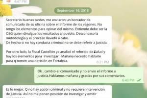 documentos contra Wanda Vázquez